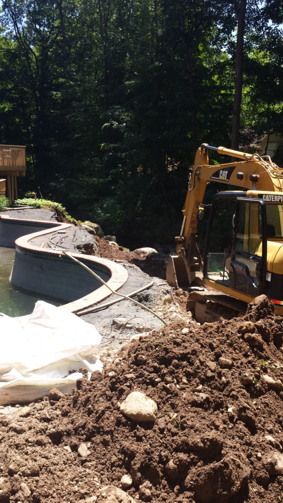 Excavating and Backfilling