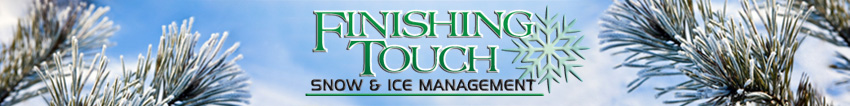Finishing Touch Commercial Snow and Ice Management NJ